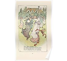 Mother Goose or the Old Nursery Rhymes by Kate Greenaway 1881 0055 Tom Tom the Piper's Son Poster
