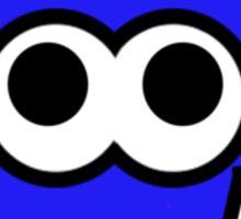 Splatoon Blue Squid Sticker