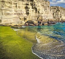 Green Sand Beach by Yves Rubin