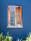 Golden Pot on Window Ledge by Lucinda Walter