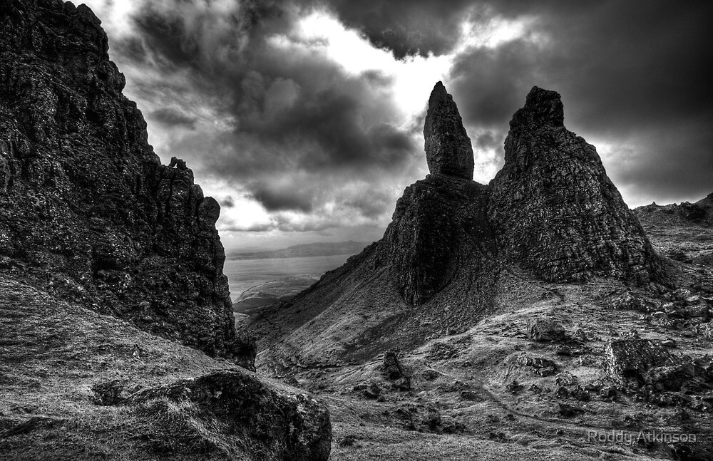 Old Man of Storr by Roddy Atkinson