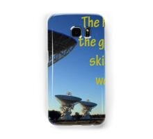 The Heavens shall declare the glory of His Name Samsung Galaxy Case/Skin