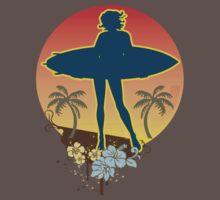 Hang Ten Surf T-Shirt by jay007