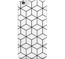 3D Cube Lines iPhone Case/Skin