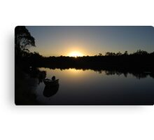 A new day at Worrell creek Canvas Print