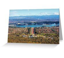 Canberra Greeting Card