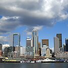 View of Seattle by Bunny Clarke