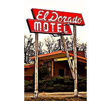 El Dorado Motel Photographic Print