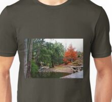 Suspension Bridge At Abercrombie Unisex T-Shirt