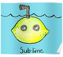 Sub-lime Poster