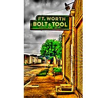 Fort Worth Bold & Tool Co. Photographic Print