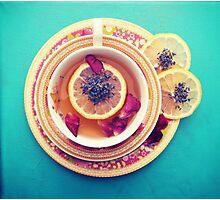 Lemon Tea Photographic Print