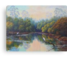 Peaceful Lagoon Canvas Print