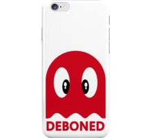 Deboned ghost - RED iPhone Case/Skin