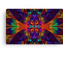 Rainbow Elliptic Splits Canvas Print
