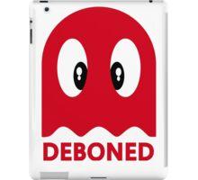Deboned ghost - RED iPad Case/Skin