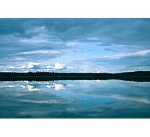 Reflections of Blue Photographic Print