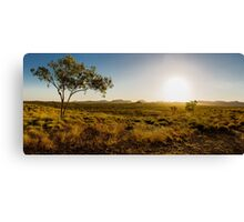 Sunset over the Ord Valley, Western Australia Canvas Print
