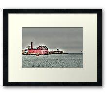 Gloucester Coast Framed Print