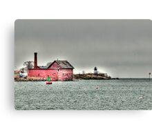 Gloucester Coast Canvas Print