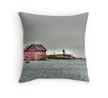 Gloucester Coast Throw Pillow