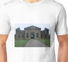 A Fearful Walk - Entry to Assembly Hall and Cells of Trial Bay Gaol Unisex T-Shirt