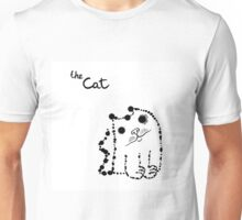 Ink splashes cat Unisex T-Shirt