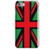 Afro U.K. Flag iPhone Case/Skin