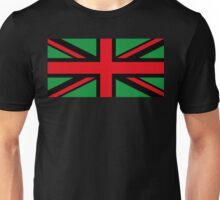 Afro U.K. Flag Unisex T-Shirt