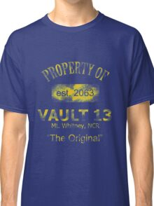 "Vaultdweller - Vault 13 ""The Original"" Classic T-Shirt"