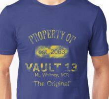 """Vaultdweller - Vault 13 """"The Original"""" Unisex T-Shirt"""
