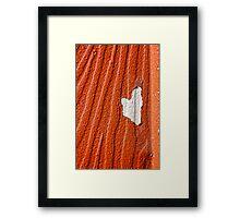 Soft Spot Framed Print