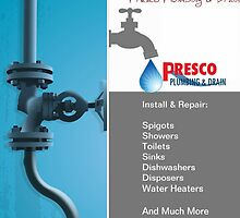 Plumbing Repair & Maintenance Services Oakville & GTA by Presco Plumbing