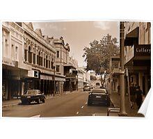 Fremantle Hay St Poster