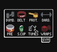The Lifter's Inventory - Gym Equipment Pixel Art by CongressTart
