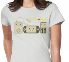 Kawaii Technology Womens Fitted T-Shirt
