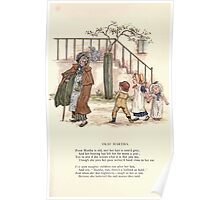 LIttle Ann and Other Poems by Jane and Ann Taylor art Kate Greenaway 1883 0035 Deaf Martha Poster
