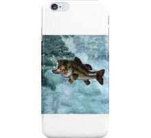 TAKE ME TO THE RIVER..FISH BLOWING BUBBLES.JOURNAL..PILLOWS,TOTE BAGS,SPIRAL BOOKS ECT... iPhone Case/Skin