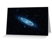 galaxy1 Greeting Card