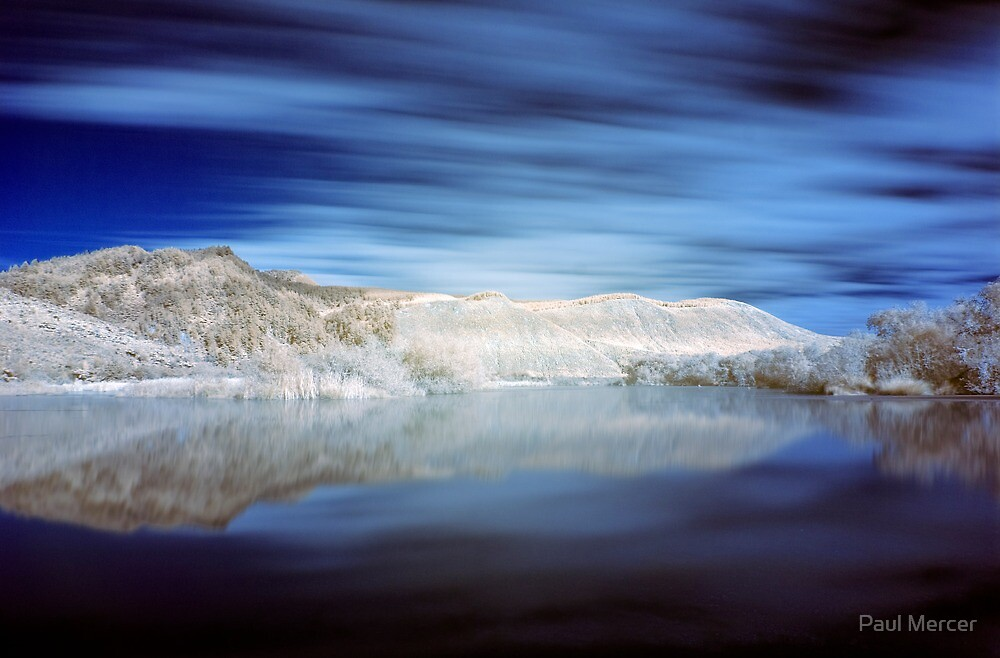 Paradise in infrared by Paul Mercer