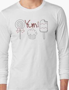 Yum! Long Sleeve T-Shirt
