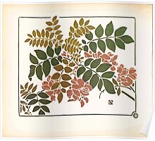Maurice Verneuil Georges Auriol Alphonse Mucha Art Deco Nouveau Patterns Combinaisons Ornementalis 0026 Poster