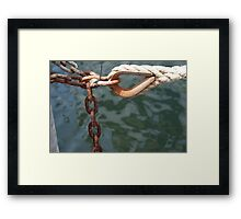 Off the jetty - Raymond Island Framed Print