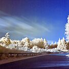 Geyser road in infrared by Paul Mercer