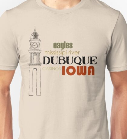 Dubuque State of Mind Unisex T-Shirt