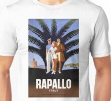 Rapallo Italy Vintage Travel Poster Unisex T-Shirt