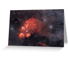 nebula4 Greeting Card