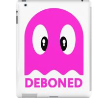 Deboned ghost - PURPLE iPad Case/Skin