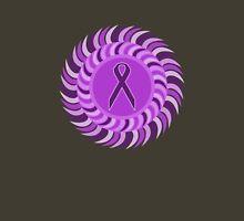 Purple Sun Patterns: 2 Unisex T-Shirt
