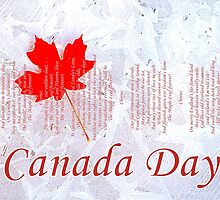Canada Day ~ The Maple Leaf Forever by ©The Creative  Minds